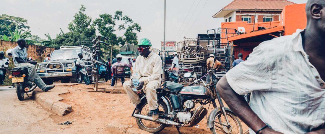 Afdeling Beeld gaat naar Oeganda