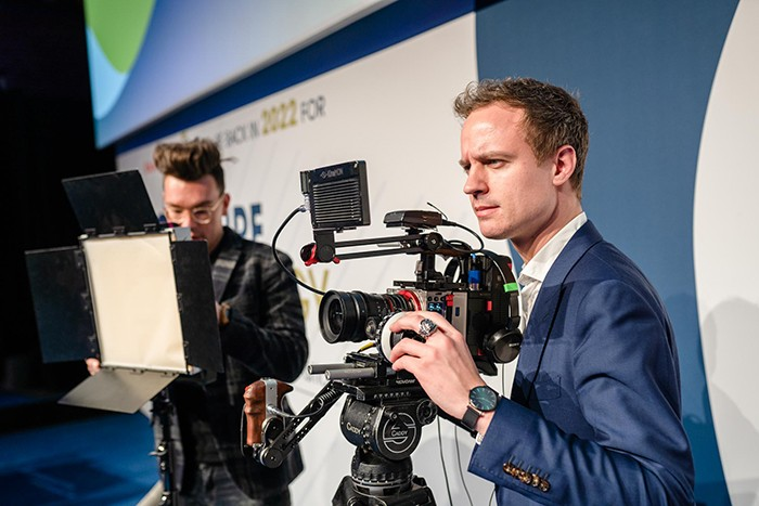 Livestream reportage congres